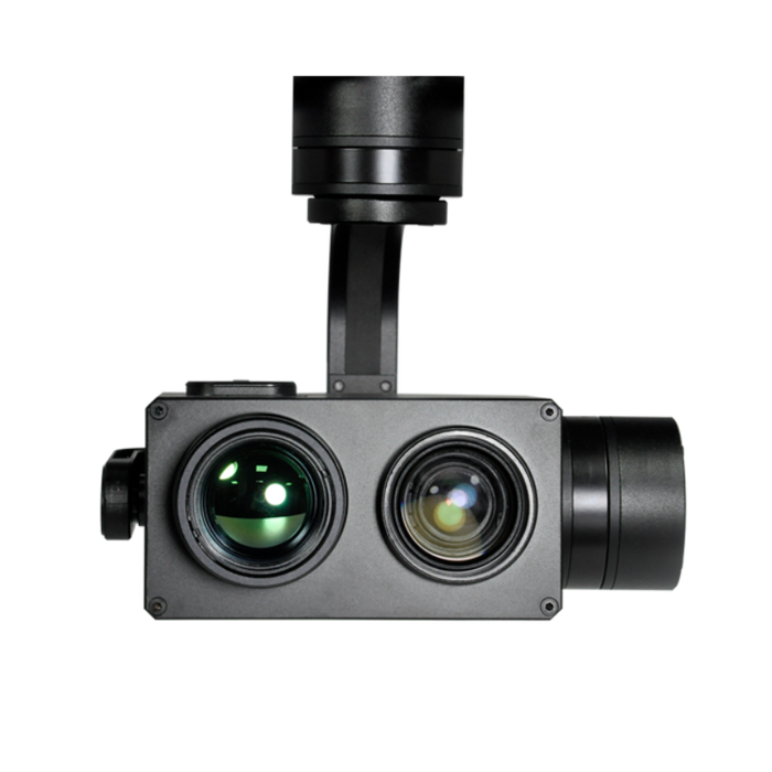 T10-TIR MINI 10X Optical Zoom and Thermal Camera with 3-axis Gimbal - Unmanned RC