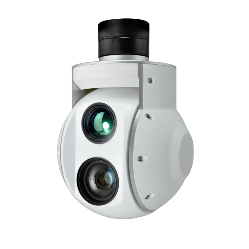 F30T 30x Zoom Gimbal Camera for Fixed Wing/VTOL Plane with Thermal Imager & Object Tracking - Unmanned RC