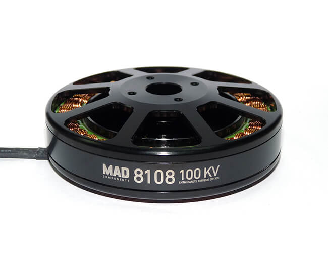 MAD 8108 EEE HevayLifting Multicopter Motor (M8 EEE) - Unmanned RC