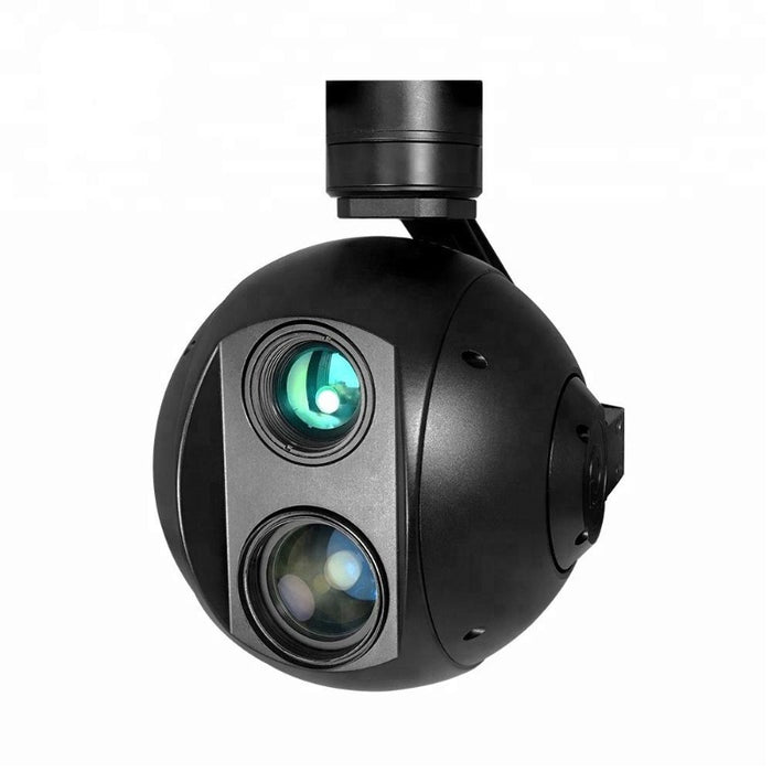 V360 TIR 30x Optical Zoom IR Thermal Camera with 3-axis Gimbal - Unmanned RC
