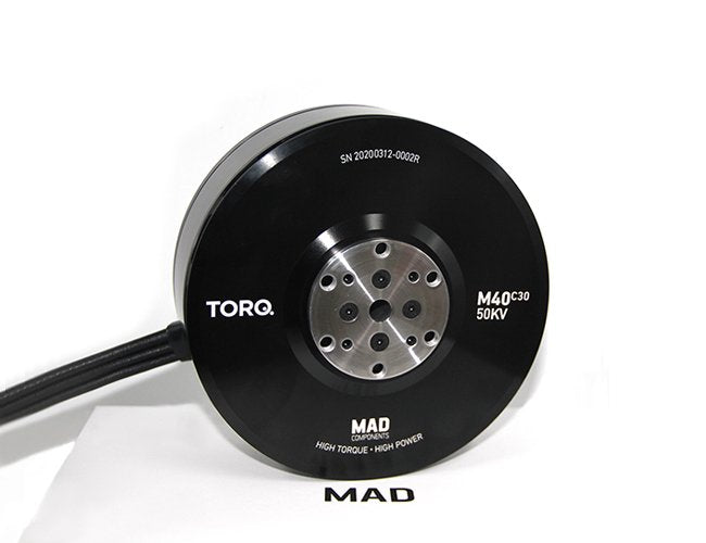 MAD TORQ M40C30 IPE Brushless Motor for Paramotor and Paraglider - Unmanned RC
