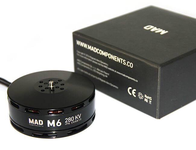 MAD M6 IPE Hexacopter Motor - Unmanned RC