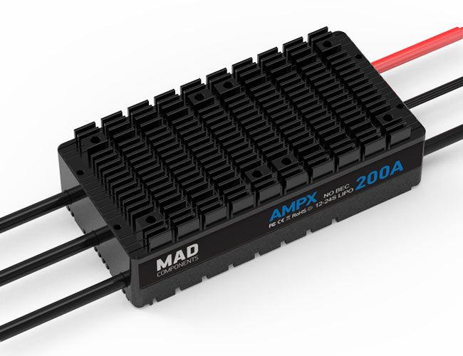 MAD AMPX ESC 200A(12-24S) - Unmanned RC