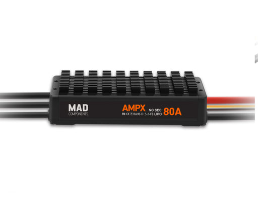 MAD AMPX ESC 80A HV (5-14S) - Unmanned RC