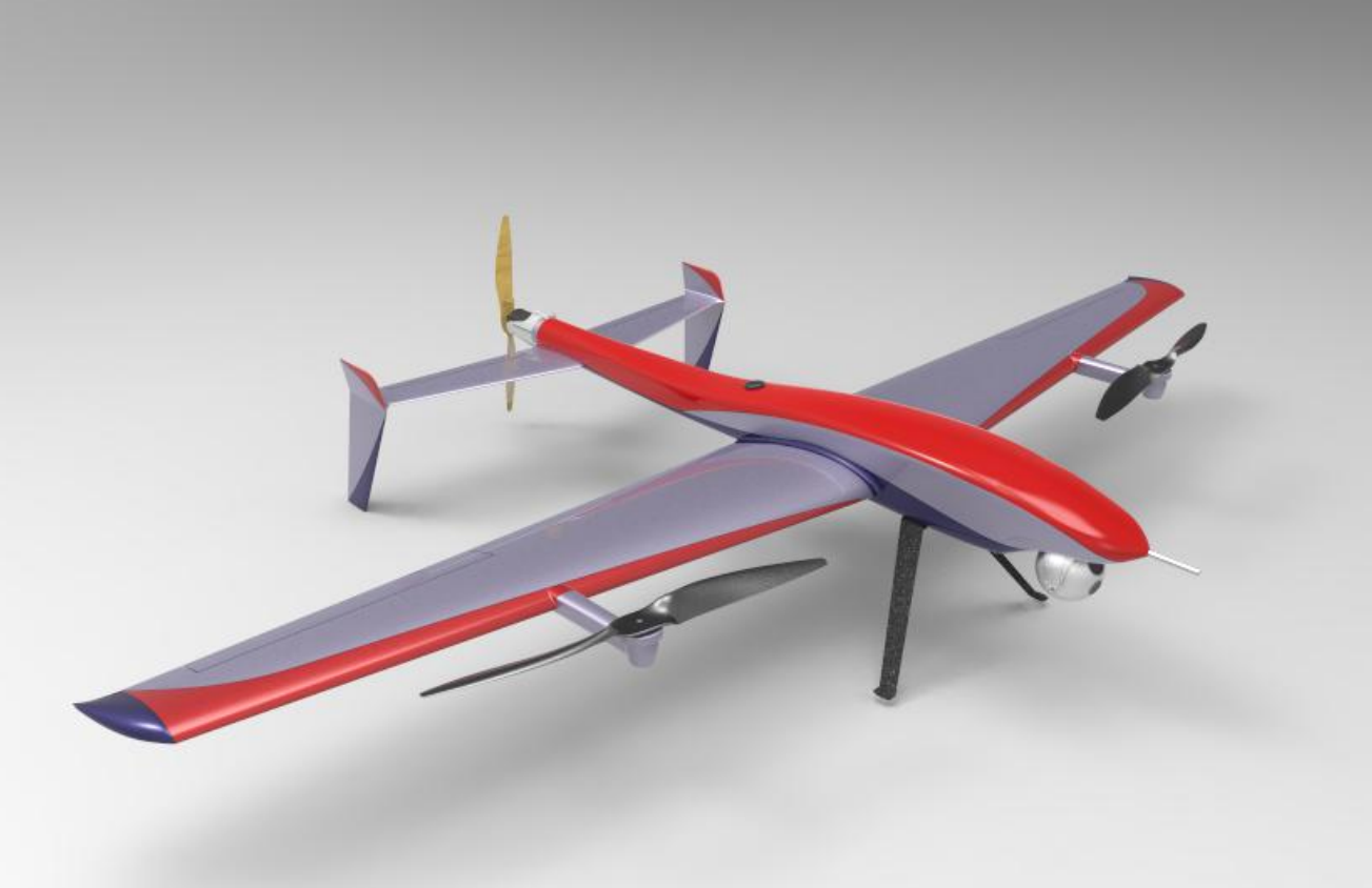 Pterosaur VTOL Professional Surveillance and Mapping UAV - Unmanned RC