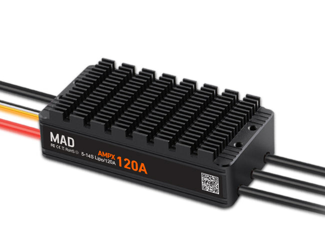 MAD AMPX ESC 120A HV (5-14S) - Unmanned RC