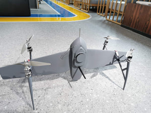 Alfa Pixhawk 2 Tailsitter VTOL Mapping Drone-Fully Carbon Fiber - Unmanned RC
