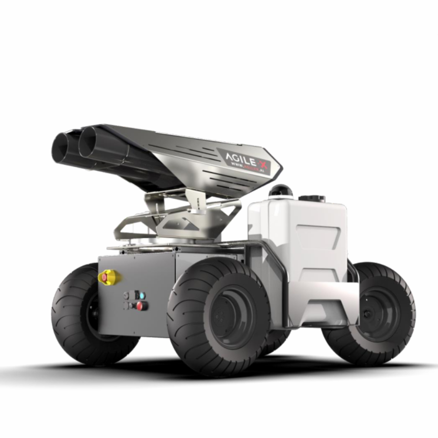Autonomous Robot for Disinfecting COVID-19 Contaminated Area - Unmanned RC