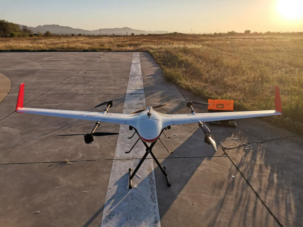 Frigate VTOL UAV for Mapping& Aerial Inspection and Surveillance - Unmanned RC