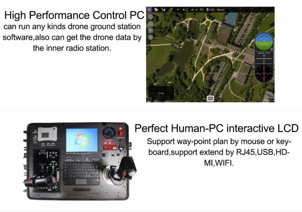 DGS QGC Mission Planner Ground Control Staton for Commerical UAV - Unmanned RC
