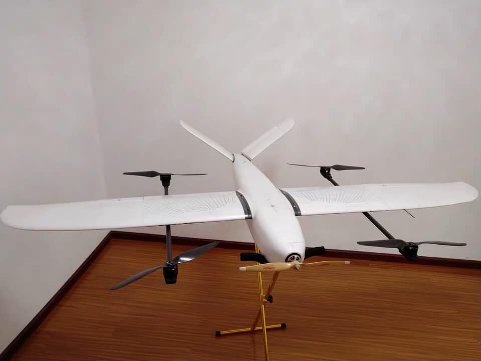 Dragon VTOL Plane For Drone Mapping and Topography