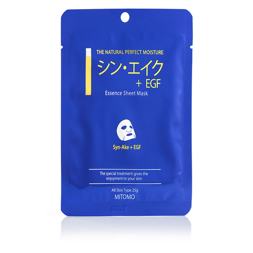 SYN-AKE + EGF ESSENCE SHEET MASK, MITOMO