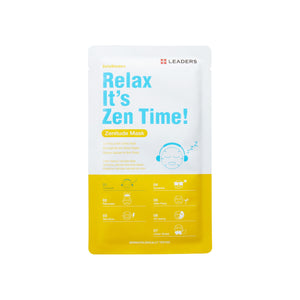 Relax It's Zen Time!, Daily Wonders,  Leaders Cosmetics, sheet mask, K-Beauty