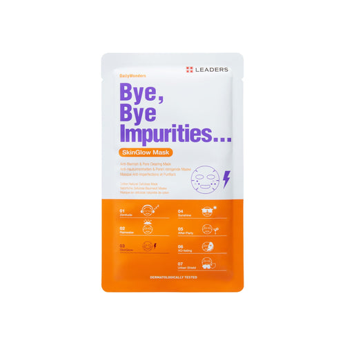 Bye, Bye Impurities..., Daily Wonders, Leaders Cosmetics, sheet mask, K-Beauty