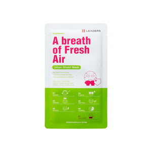A Breath Of Fresh Air, Daily Wonders, Leaders Cosmetics, sheet mask, K-Beauty