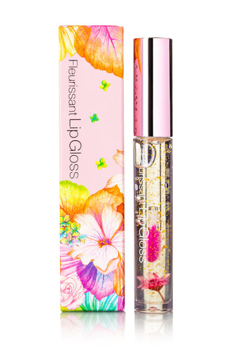 FLEURISSANT Lip Gloss Peach Flower (GS03)