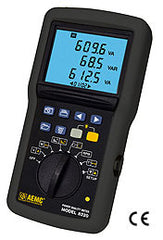 AEMC 8220 Single-Phase Power Quality Analyzer