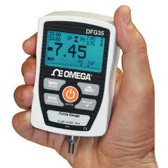 Omega DFG35- 100 Digital force gauge with USB output