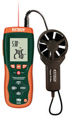 Extech HD300 Thermo-Anemometer with built-in InfaRed Thermometer
