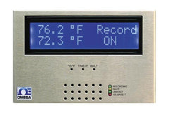 Omega iSD-TC Web-Ethernet temperature monitoring. Dual thermocouple input