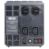 Tripp Lite LR2000 2000W 230V AVR Line Conditioner, Power Conditioner, AC Surge Protector, 6 Outlets, Uniplug adapter