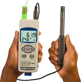 Omega RHXL3SD Handheld Temperature and Humidity Meter with Data Logger