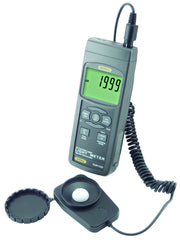 "GENERAL TOOLS Light Meter with Excel-formatted Data Logging SD Card and ""K/J"" Port - DLM112SD"