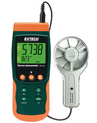 Extech SDL300 Metal Vane Thermo-Anemometer SD Logger