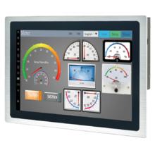 "Arestech TPM-3321 - IP65 Protected High brightness 1500nits 21.5"" Stainless Steel Industrial Touch Monitor"