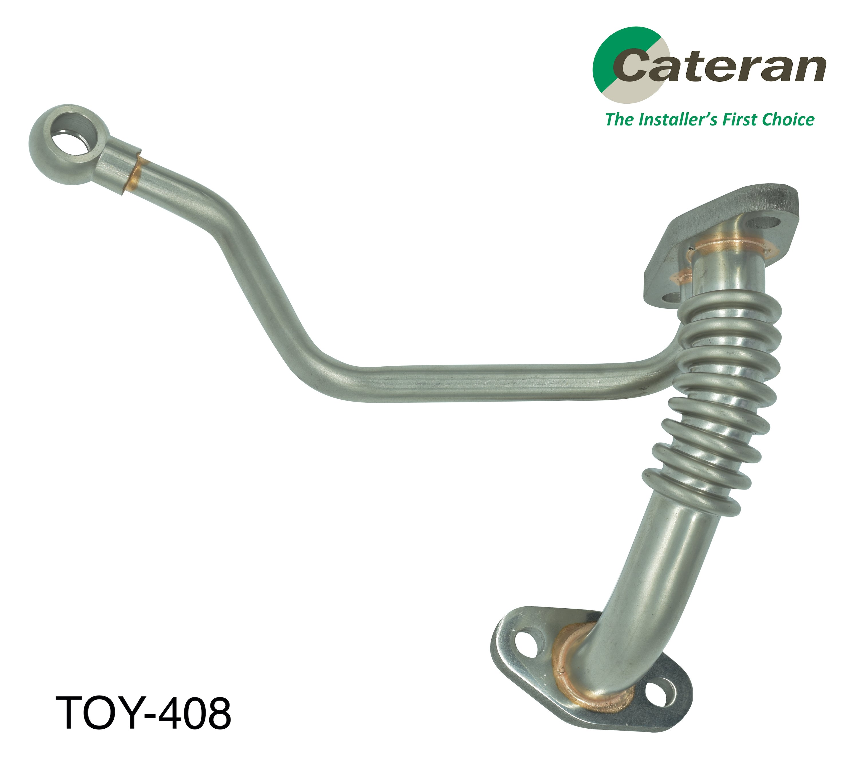 TOYOTA PRADO 120 Series 1KZ-TE 3.0L 4cyl SUV ALL TURBO - OIL LINE KIT