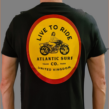 Load image into Gallery viewer, Live to Ride Men's Tee