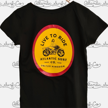 Load image into Gallery viewer, Live to Ride Women's Tee
