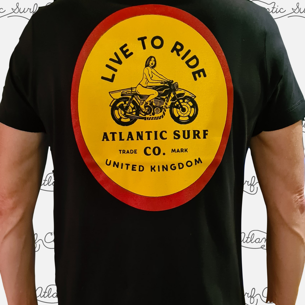 Live to Ride Men's Tee