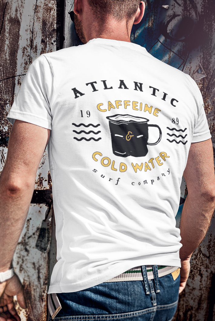 Caffeine & Coldwater Mens Tee