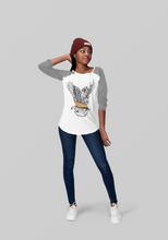 Load image into Gallery viewer, 'The Eagle' Girls Long Sleeved Raglan