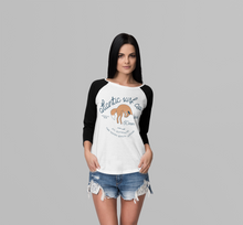 Load image into Gallery viewer, 'The Fox' Girls Long Sleeved Raglan