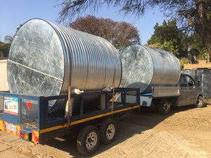 HOME TANK CORRUGATED - 8 000L 2.25MØ X 2.2M HIGH