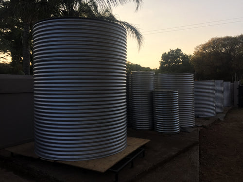 HOME TANK CORRUGATED - 5 000L 1.7MØ X 2.2M HIGH