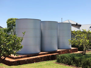 HOME TANK CORRUGATED - 10 000L 2.5MØ X 2.2M HIGH