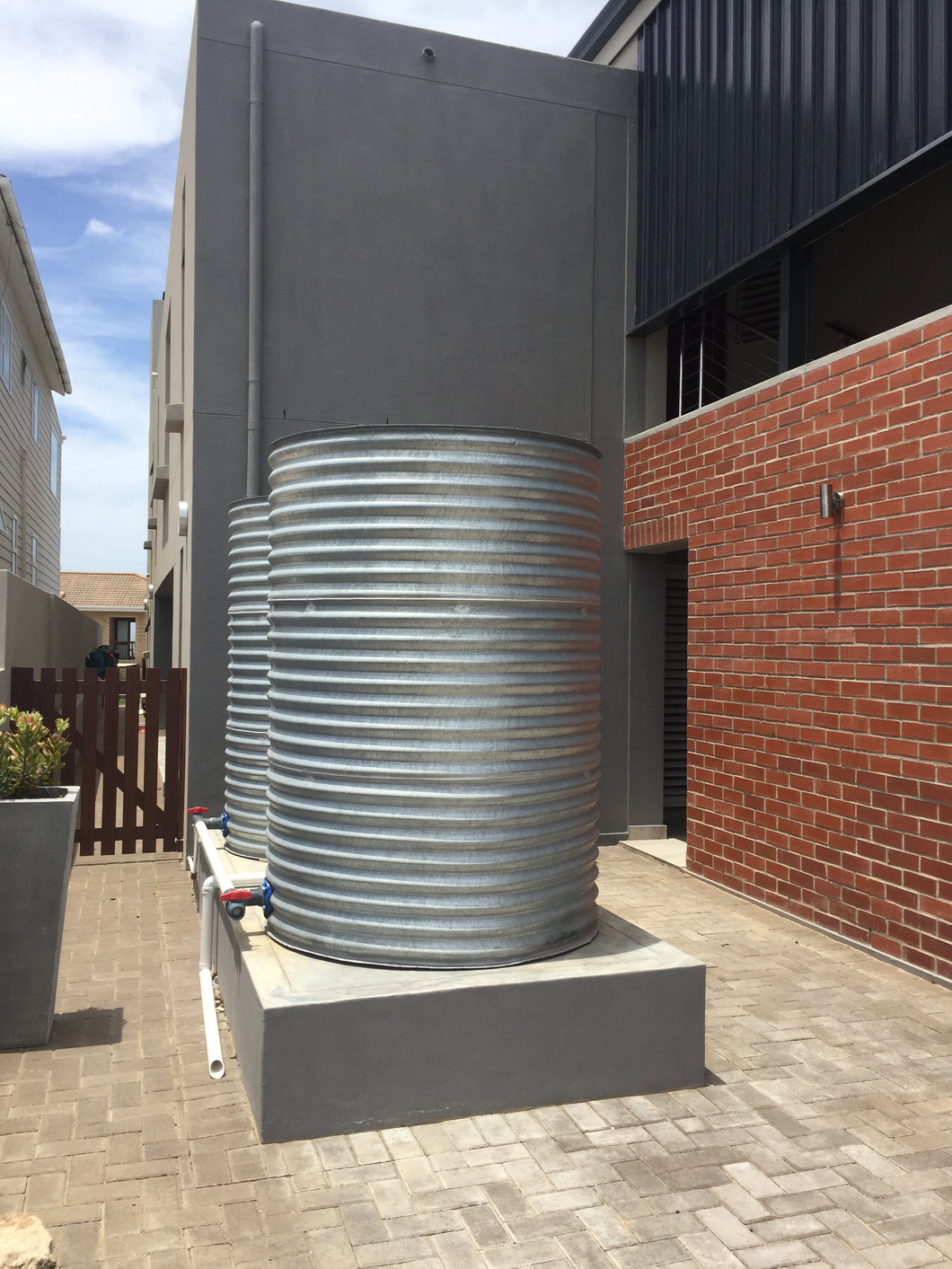 HOME TANK CORRUGATED - 4 000L 1.6MØ X 2.2M HIGH