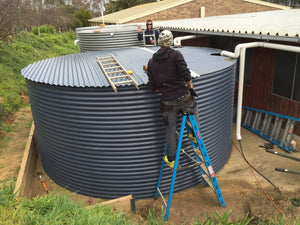 HOME TANK CORRUGATED - 60 000L 5.15MØ X 2.93M HIGH