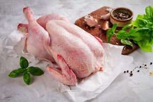 Whole Chicken With Skin (Avg weight 3.5 lbs)