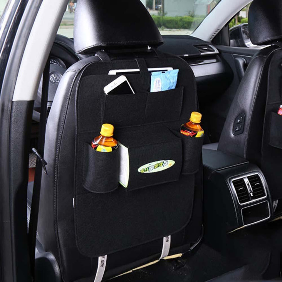 Car Back Seat Multi Pocket Storage Bag Organizer