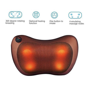 Neck & Shoulder Massager (Infrared Self Rotating Car & Home)