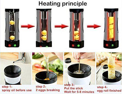 Automatic Nonstick Egg Cooker Vertical Grill - Egg Master