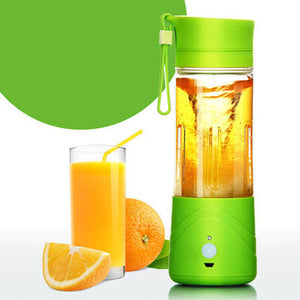 USB Rechargeable Portable Juicer With Free Coffee Beater