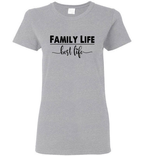 Ladies Family life t-shirt