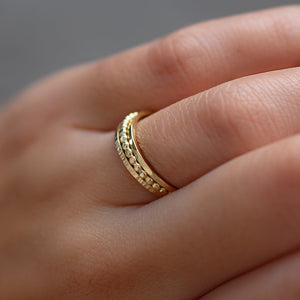 Bague Sia 01 Or 18K Sample slow jewelry