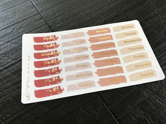 Neutral Beige Date Covers (MATTE)