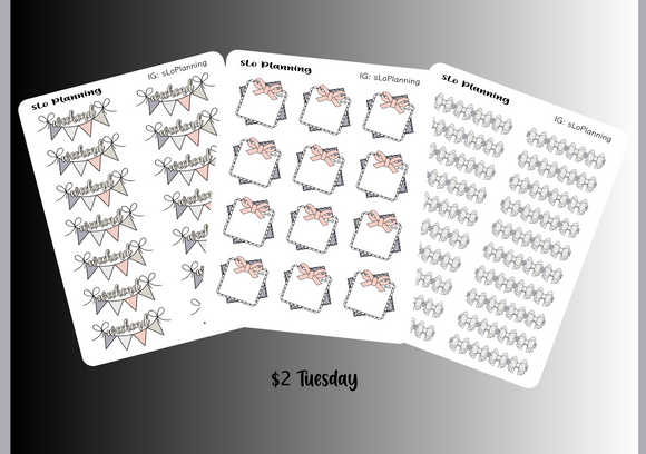Daily Icon sheets